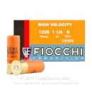 "Bulk 12 Gauge Ammo For Sale - 2-3/4"" 1-1/4 oz. #8 Shot Ammunition in Stock by Fiocchi Optima Specific HV - 250 Rounds"