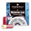 """Cheap12 Gauge Ammo For Sale - 2-3/4"""" 1-1/8 oz. #2 Steel Shot Ammunition in Stock by Federal Speed-Shok - 25 Rounds"""