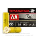 "Cheap 20 ga #8 Shot For Sale - 2-3/4"" #8 Shot Ammunition by Winchester - 25 Rounds"
