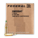 Bulk 5.56x45 Ammo For Sale - 62 Grain FMJ XM855CSF Ammunition in Stock by Lake City - 1000 Rounds