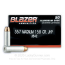 357 Magnum Ammo For Sale - 158 gr JHP CCI Ammunition In Stock - 50 Rounds