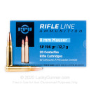 8mm Ammo For Sale - 196 gr SP Ammunition In Stock by Prvi Partizan - 20 Rounds
