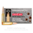 Cheap 7.62x51 Ammo For Sale - 145 Grain FMJBT Ammunition in Stock by Prvi Partizan - 20 Rounds