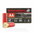 """Bulk 12 Gauge Shot Ammo - Winchester AA Xtra-Lite 2-3/4"""" #8 Shot - 250 Rounds"""