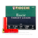 28 Ga Fiocchi #9 Target Ammo For Sale - Fiocchi Premium Exacta 28 Ga Shells - 25 Rounds