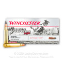 Premium 223 Rem Ammo For Sale - 64 Grain Extreme Point Ammunition in Stock by Winchester Deer Season XP - 20 Rounds
