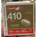 """Cheap 410 Bore Ammo For Sale - 2-1/2"""" 1/2oz. #8 Shot Ammunition in Stock by Aguila - 25 Rounds"""