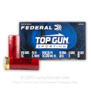 """Cheap 12 Gauge Ammo For Sale - 2-3/4"""" 1oz. #8 Shot Ammunition in Stock by Federal Top Gun Sporting - 250 Rounds"""