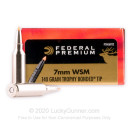 Premium 7mm WSM Ammo For Sale - 140 Grain Trophy Bonded Tip Ammunition in Stock by Federal Vital-Shok - 20 Rounds