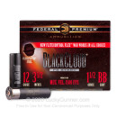 """Premium 12 Gauge Ammo For Sale - 3-1/2"""" 1-1/2 oz. BB Ammunition in Stock by Federal Premium Black Cloud FS Steel - 25 Rounds"""