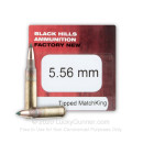 Premium 5.56x45 Ammo For Sale - 69 Grain TMK Ammunition in Stock by Black Hills - 50 Rounds