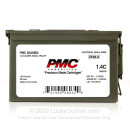 Bulk 50 Cal BMG PMC Ammo For Sale - 660 grain FMJ Ammunition in Ammo Can - 100 Rounds
