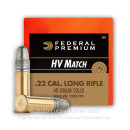 22 LR Ammo For Sale - 40 gr solid Ammunition by Federal Gold Medal In Stock
