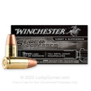 Premium 9mm Ammo For Sale - 147 Grain FMJ Encapsulated Ammunition in Stock by Winchester Super Suppressed - 50 Rounds
