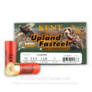 """Premium 12 Gauge Ammo For Sale - 2-3/4"""" 1-1/8oz. #7 Steel Shot Ammunition in Stock by Kent Upland Fasteel - 25 Rounds"""