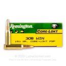 308 Ammo For Sale - 150 gr PSP - Remington Core-Lokt Ammo Online