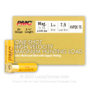 "Cheap 20 Gauge Ammo For Sale - 2-3/4"" 1oz. #7.5 Shot Ammunition in Stock by PMC One-Shot High Velocity - 25 Rounds"