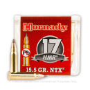 Premium 17 HMR Ammo For Sale - 15.5 gr - NTX - Hornady Varmint Ammunition In Stock - 50 Rounds