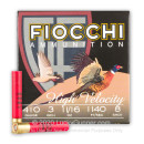 "Cheap 410 Bore Ammo For Sale - 3"" 11/16oz. #8 Shot Ammunition in Stock by Fiocchi - 25 Rounds"