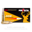 Cheap 308 Ammo For Sale - 150 Grain SP Ammunition in Stock by Fiocchi Perfecta - 20 Rounds