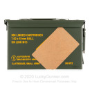 Bulk 7.62x51mm Ammo For Sale - 148 Grain Full Metal Jacket Ammunition in Stock by Magtech - 500 Rounds