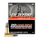 Bulk 22 LR Ammo For Sale - 38 Grain LRN Ammunition in Stock by Blazer - 5250 Rounds