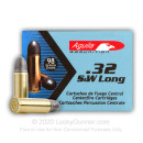 32 S&W Long Ammo For Sale - 98 gr LRN Aguila 32 S&W Long Ammunition by Aguila For Sale - 50 Rounds