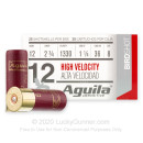 """Cheap 12 Gauge Ammo For Sale - 2-3/4"""" 1-1/4oz. #8 Shot Ammunition in Stock by Aguila - 25 Rounds"""