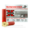 """Premium 12 Gauge Ammo For Sale - 3-1/2"""" 1-3/8oz. #3 Steel Shot Ammunition in Stock by Winchester Super-X High Velocity - 25 Rounds"""