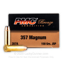 357 Mag Ammo For Sale - 158 gr JSP Ammunition by PMC In Stock - 50 Rounds