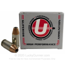 Premium 380 Auto Ammo For Sale - 90 Grain JHP XTP Ammunition in Stock by Underwood - 20 Rounds