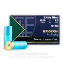 """Cheap12 Gauge Ammo For Sale - 2-3/4"""" 1 oz. #7-1/2 Shot Ammunition in Stock by Fiocchi Little Rino - 25 Rounds"""
