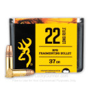 Premium 22 LR Ammo For Sale - 37 Grain Fragmenting HP Ammunition in Stock by Browning BPR - 50 Rounds