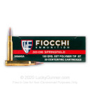 Premium .30-06 Springfield Ammo - Fiocchi Extrema Hunting 150gr SST - 20 Rounds