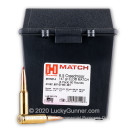 Premium 6.5 Creedmoor Ammo For Sale - 147 Grain ELD Match Ammunition in Stock by Hornady Match - 80 Rounds in Field Box