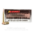 Premium 5.56x45mm Ammo For Sale - 69 Grain OTM BT Ammunition in Stock by Barnes Precision Match - 20 Rounds