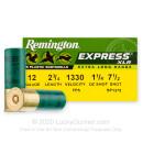 "Premium 12 Gauge Ammo For Sale - 2-3/4"" 1-1/4oz. #7.5 Shot Ammunition in Stock by Remington Express XLR - 25 Rounds"