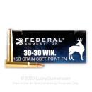 Bulk 30-30 Ammo For Sale - 150 gr SP - Federal Power-Shok Ammo Online - 200 Rounds