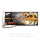 223 Rem Premium Rifle Ammo For Sale - 60 gr Nosler Partition - Federal Premium Ammo Online - 20 Rounds