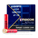 """Bulk 410 Gauge Ammo For Sale - 2-1/2"""" 1/2 oz. #7.5 Lead Shot Ammunition in Stock by Fiocchi - 250 Rounds"""