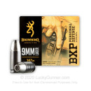 Premium 9mm Ammo For Sale - 147 Grain X-Point JHP Ammunition in Stock by Browning BXP - 20 Rounds