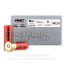 """Bulk 12 Gauge Ammo For Sale - 2-3/4"""" 1-1/4oz. #8 Shot Ammunition in Stock by PMC High Velocity Hunting Load - 250 Rounds"""