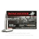 Premium 308 Ammo For Sale - 150 gr STHP - Winchester Supreme Ballistic SIlvertip Ammo Online - 20 rounds