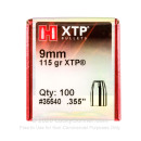 Hornady 9mm Bullets For Sale - 9mm 115gr JHP XTP bullets by Hornady