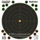 """Adhesive VisiColor Targets For Sale - 5 - 9"""" x 9"""" Targets - Champion Targets For Sale"""