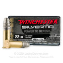 Premium 22 LR Ammo For Sale - 37 Grain SHP Ammunition in Stock by Winchester Silvertip - 50 Rounds
