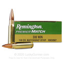 Cheap 308 Win Remington Premier MatchKing 168 gr Hollow Point Boat Tail Ammunition - 20 Rounds