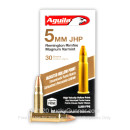 Cheap 5mm Rem Mag Ammo For Sale - 30 Grain JHP Ammunition in Stock by Aguila - 50 Rounds