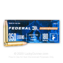 Cheap 350 Legend Ammo For Sale - 180 Grain SP Ammunition in Stock by Federal Power-Shok - 20 Rounds