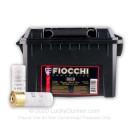 Bulk Reduced Recoil 12 ga High Velocity 00 Buck Shells For Sale - Fiocchi 00 Buck Ammo in Plano Ammo Can - 80 Rounds